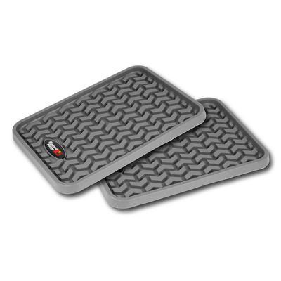 Rugged Ridge All Terrain Floor Liner, Rear (Gray) - 84950.01