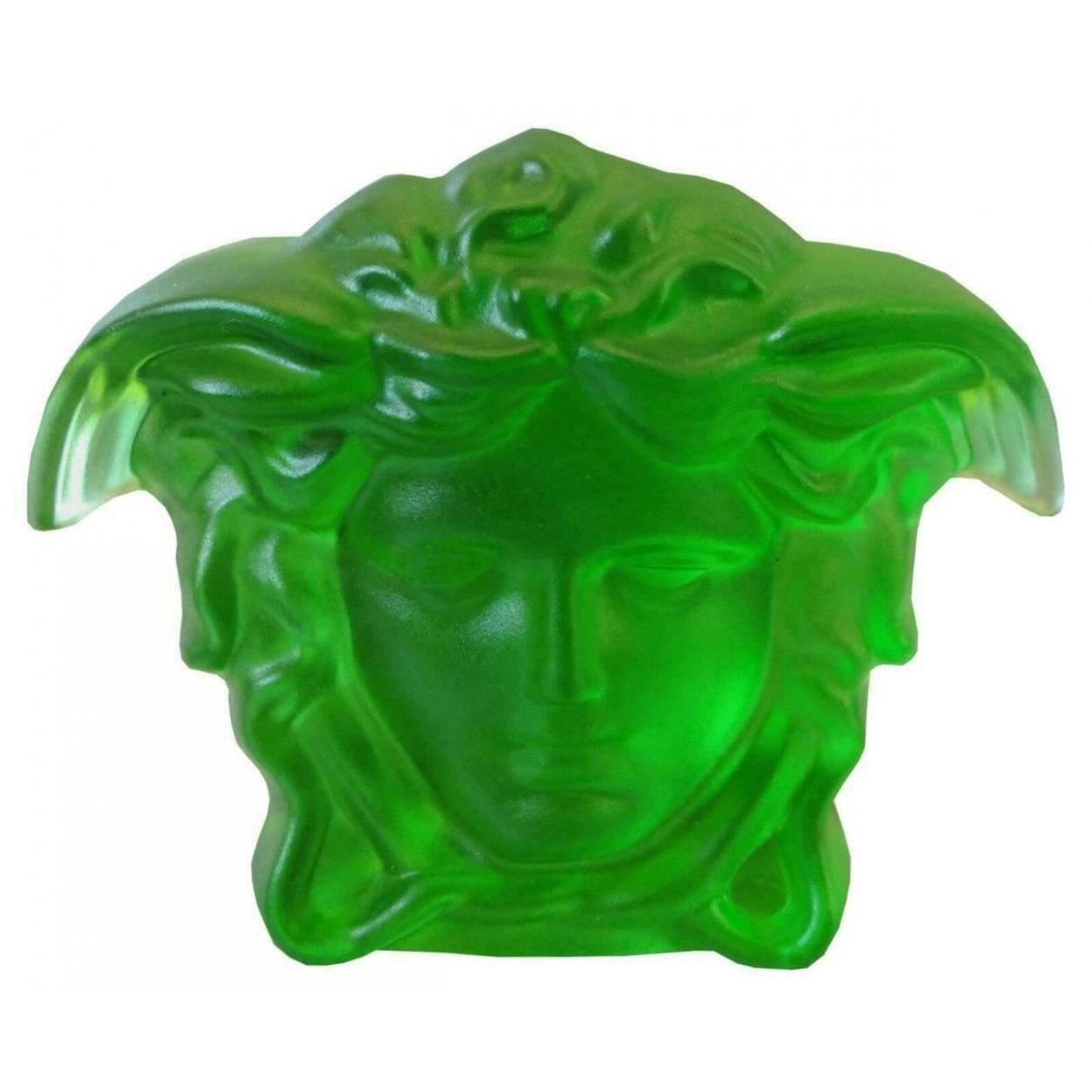 Versace - Objets & Deco   pour lifestyle en cristal - vert