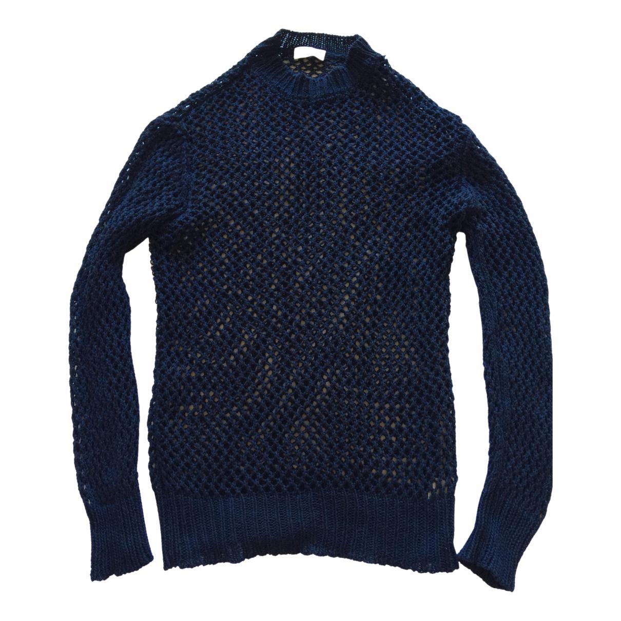 Dries Van Noten \N Navy Cotton Knitwear for Women M International