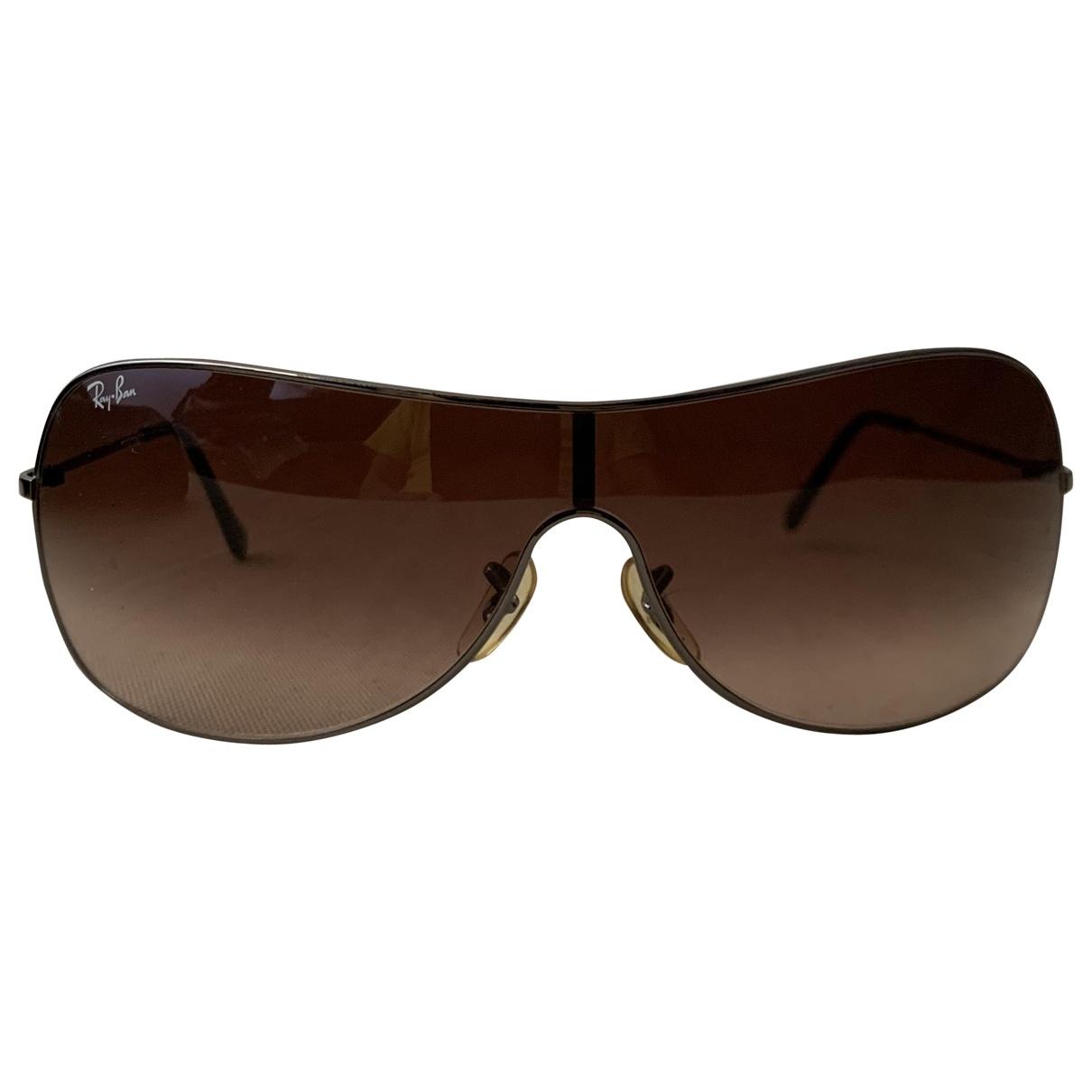Ray-ban \N Sonnenbrillen in  Braun Metall