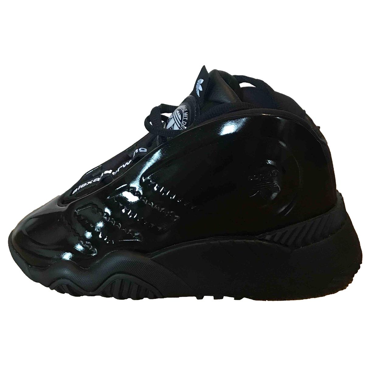 Adidas Originals X Alexander Wang \N Sneakers in  Schwarz Polyester