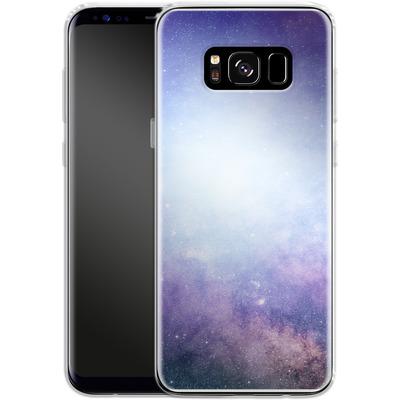 Samsung Galaxy S8 Silikon Handyhuelle - Star Nebula von caseable Designs