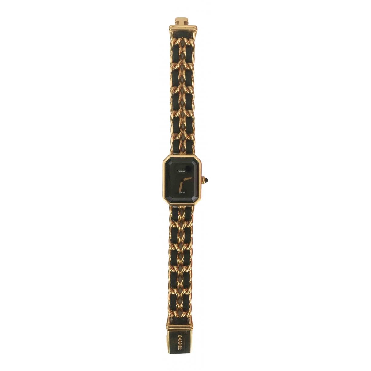 Chanel Premiere Uhr in  Gold Vergoldet