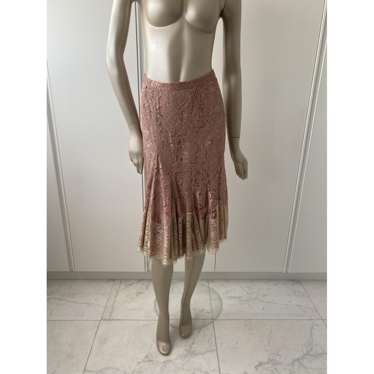 Dolce & Gabbana \N Rocke in  Rosa Synthetik