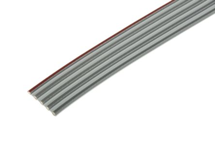 3M 5 Way Unscreened Flat Ribbon Cable, 11.89 mm Width, Series 8124