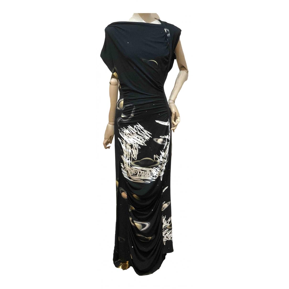 Vivienne Westwood \N Kleid in  Schwarz Viskose