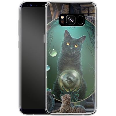 Samsung Galaxy S8 Silikon Handyhuelle - Magical Cats Montage von Lisa Parker