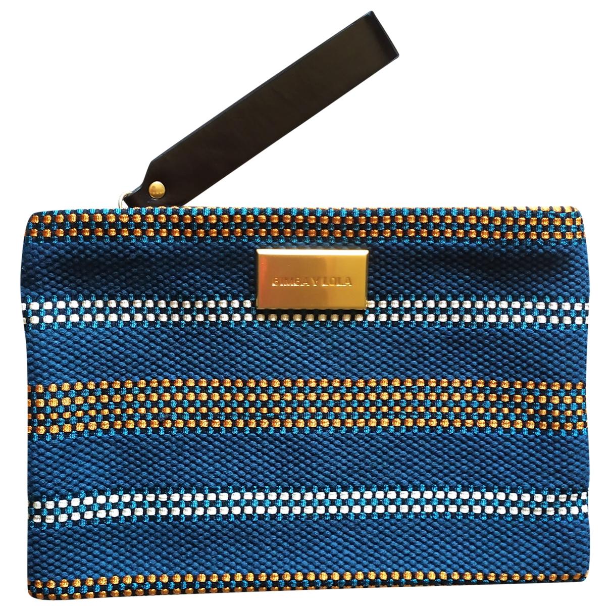 Bimba Y Lola - Pochette   pour femme en coton - bleu