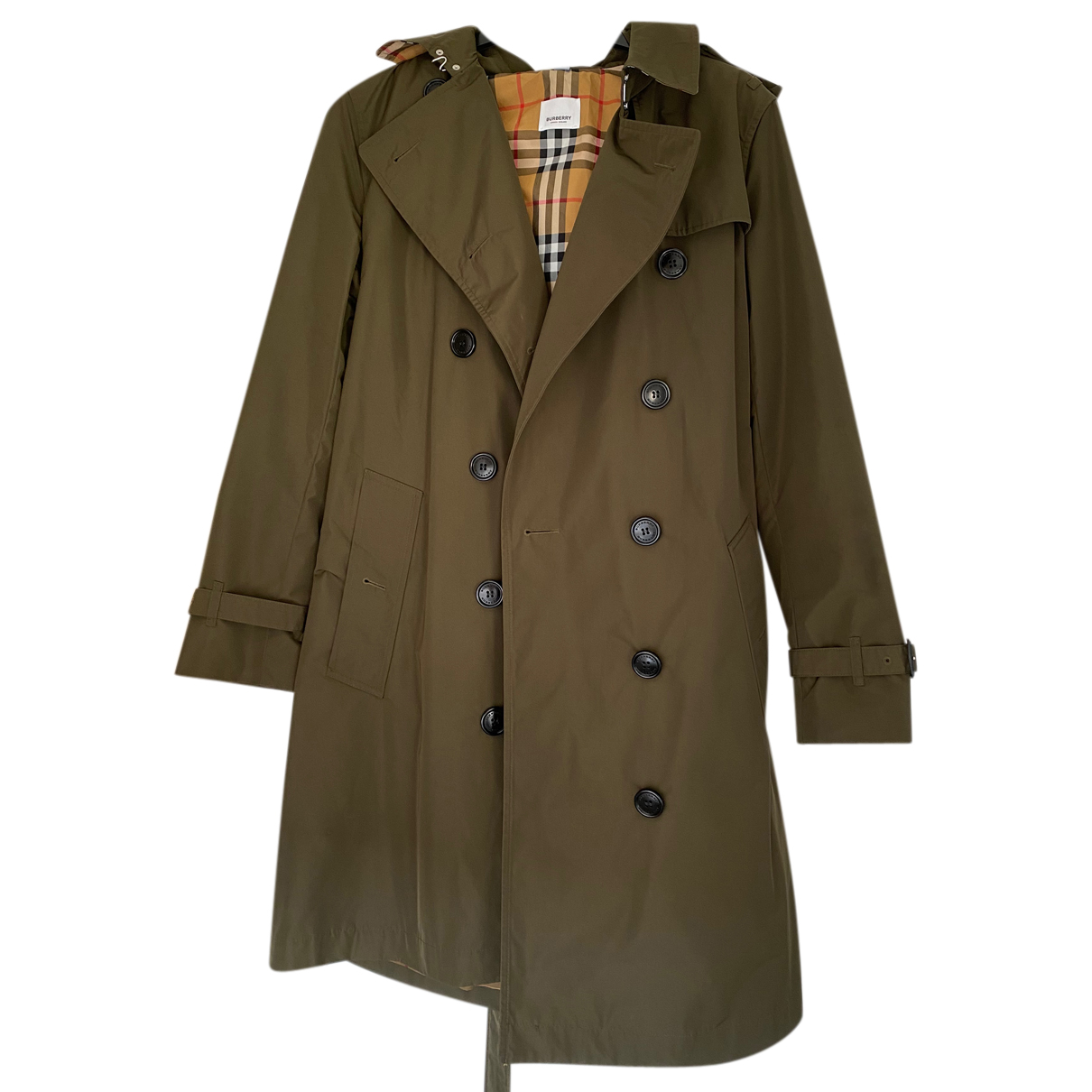 Burberry N Khaki coat for Women 8 UK