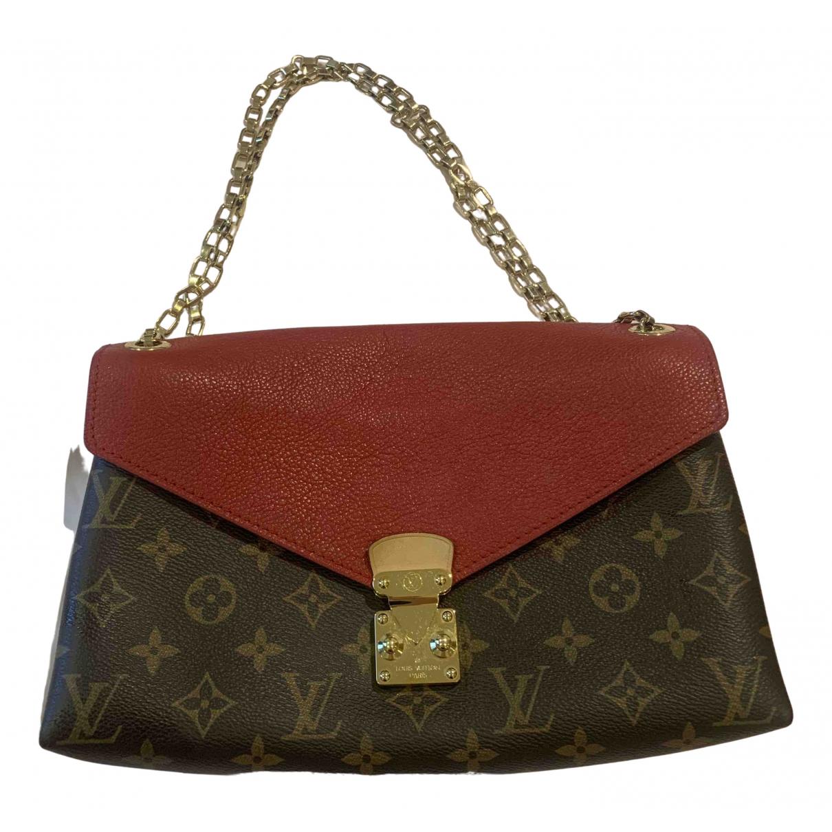 Louis Vuitton Pallas Red Cloth handbag for Women N