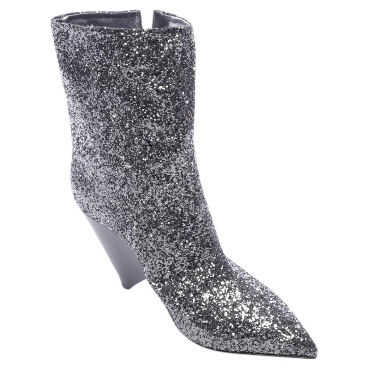 Isabel Marant - Boots Luliana pour femme - gris