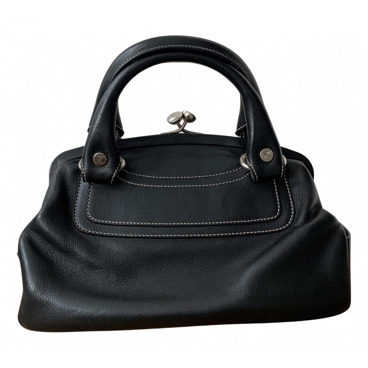 Celine N Black Leather handbag for Women N
