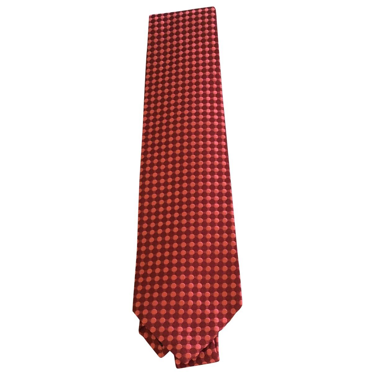 Boss \N Red Silk Ties for Men \N