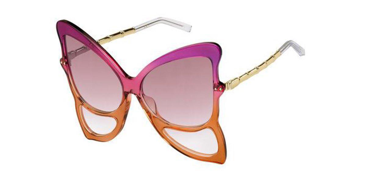 Marc Jacobs MARC 489/S BRZ/3X Women's Sunglasses Orange Size 65