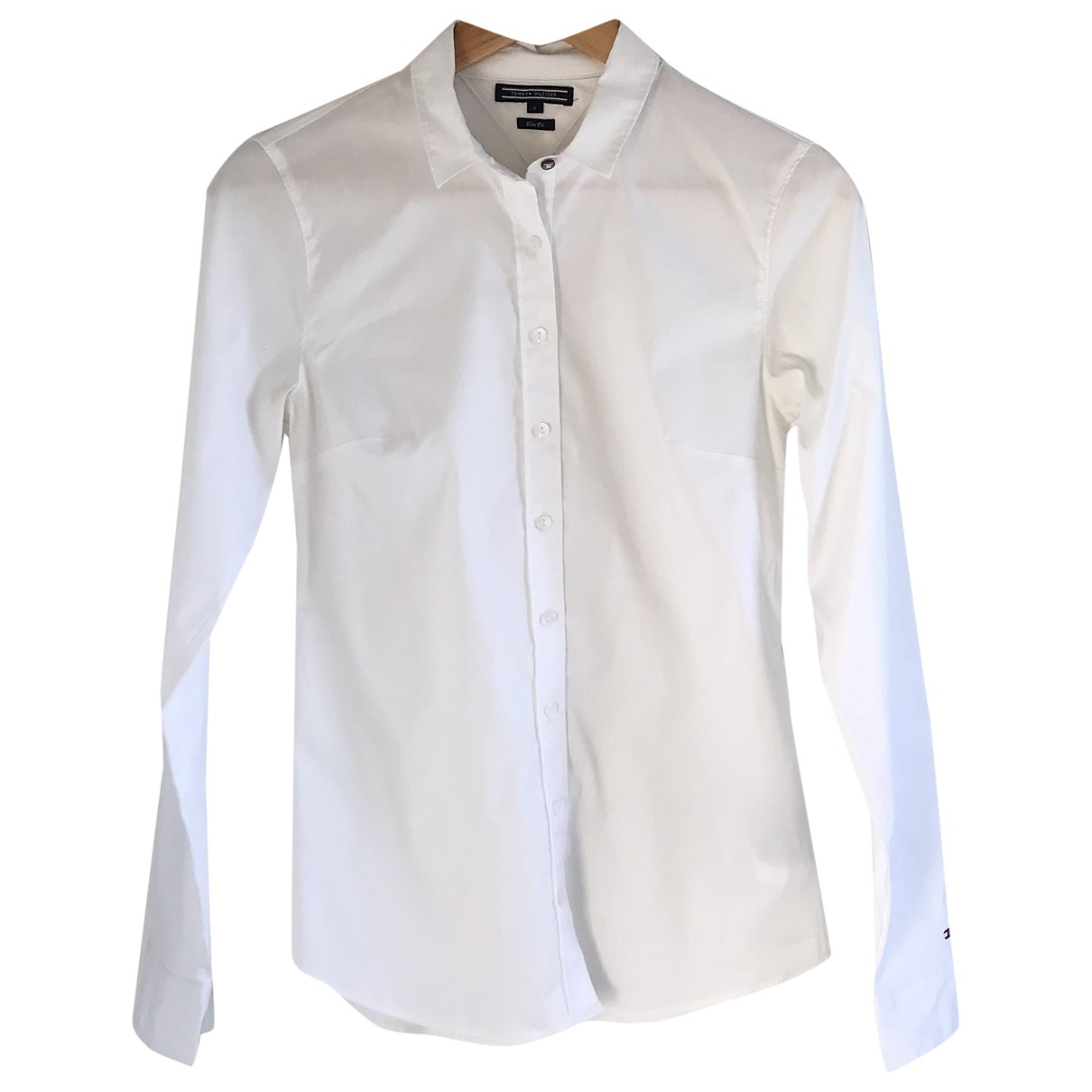 Tommy Hilfiger \N White Cotton  top for Women 36 FR