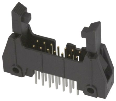 3M , 3000, 34 Way, 2 Row, Straight PCB Header