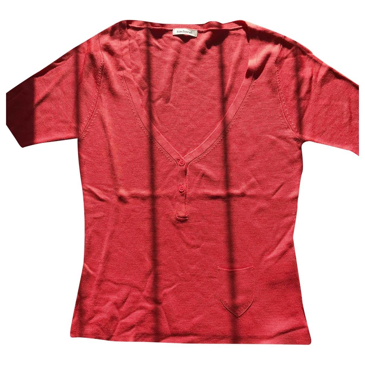 Cacharel - Top   pour femme en soie - rose