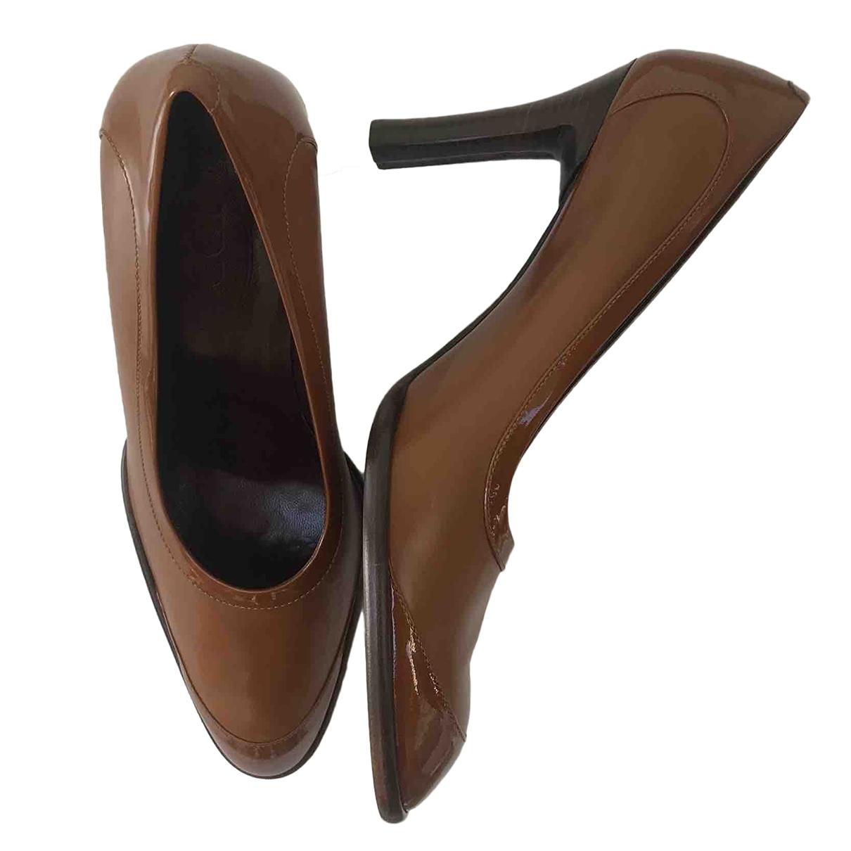 Tods - Escarpins   pour femme en cuir - marron