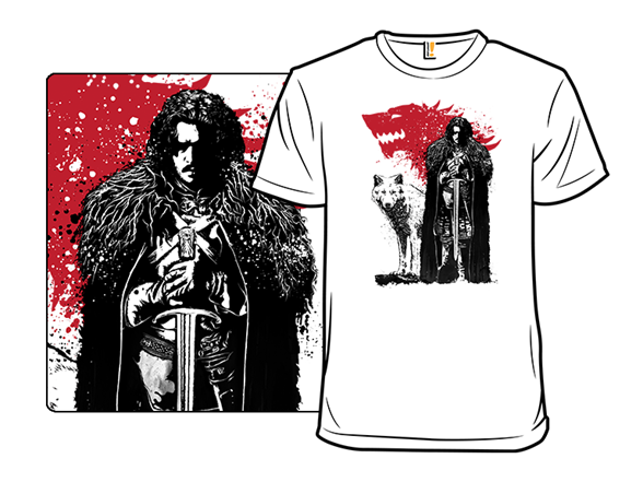 The King And The White Wolf T Shirt