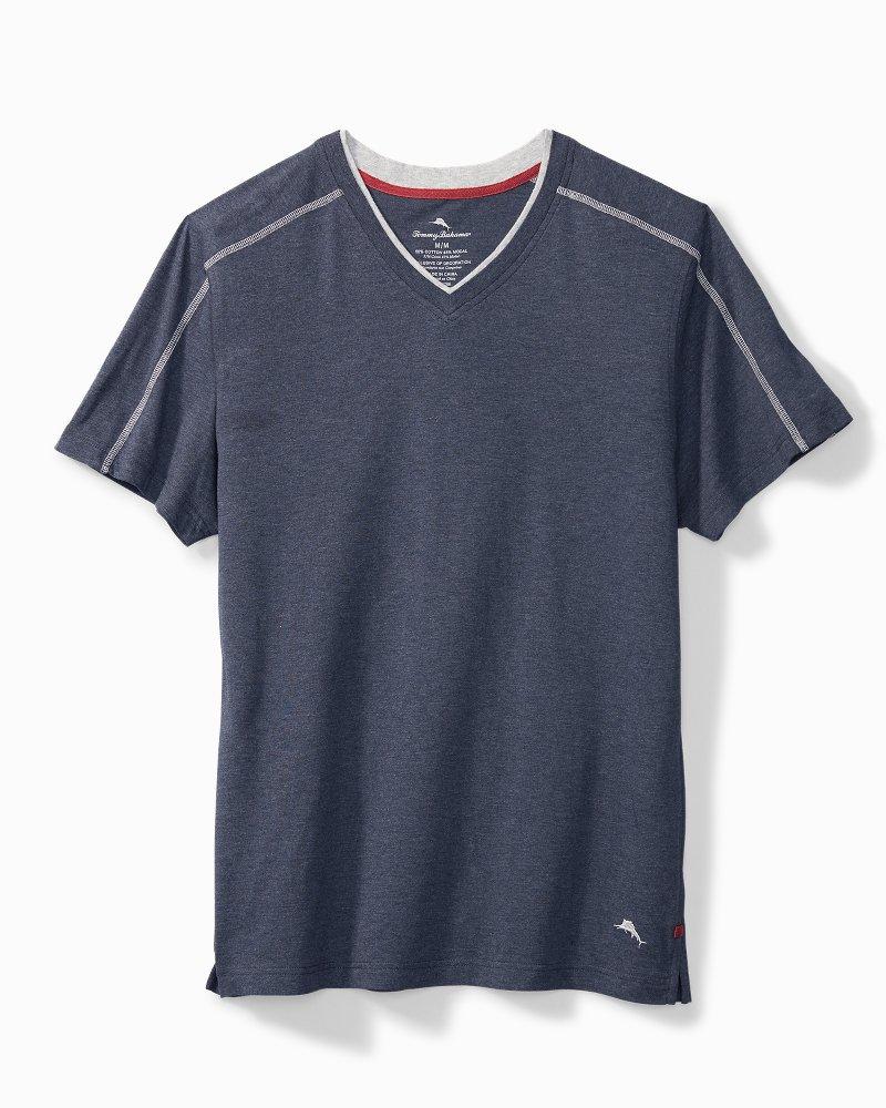Big & Tall Heather Cotton-Modal Lounge T-Shirt