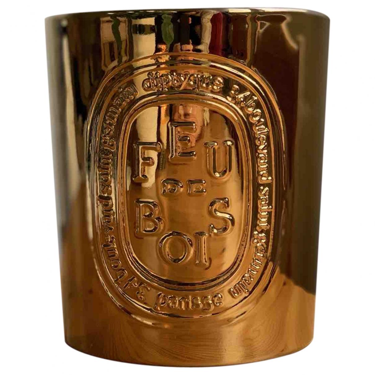 Diptyque \N Accessoires und Dekoration in  Gold Vergoldet
