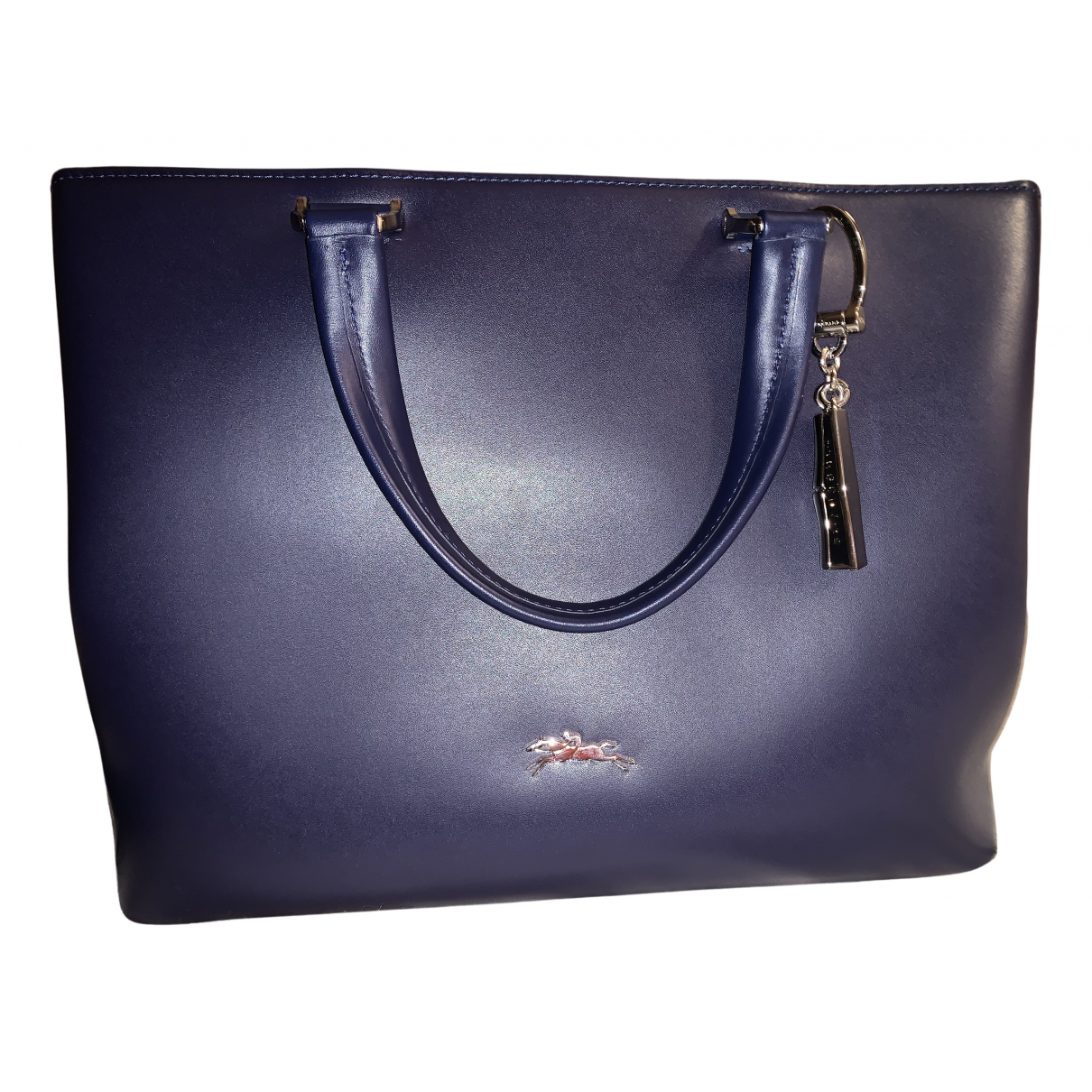 Longchamp N Blue Leather handbag for Women N