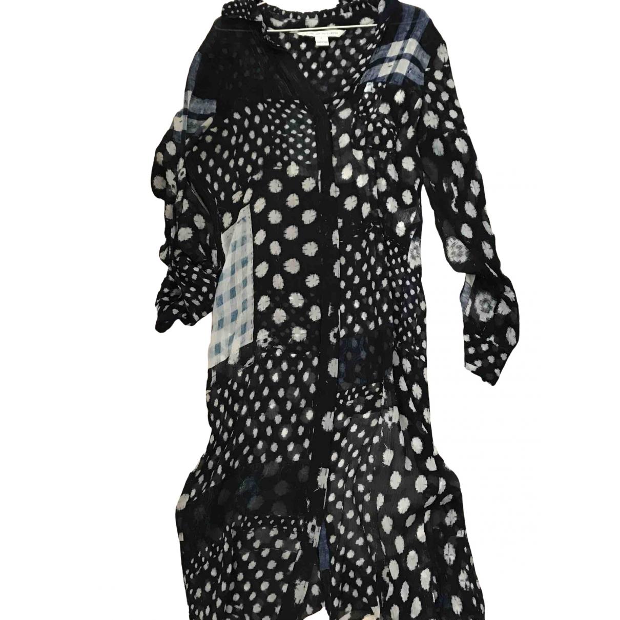 Diane Von Furstenberg \N Blue Silk dress for Women 2 0-5