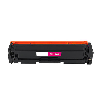 Compatible HP 201X CF403X cartouche de toner magenta haute capacite - boite economique