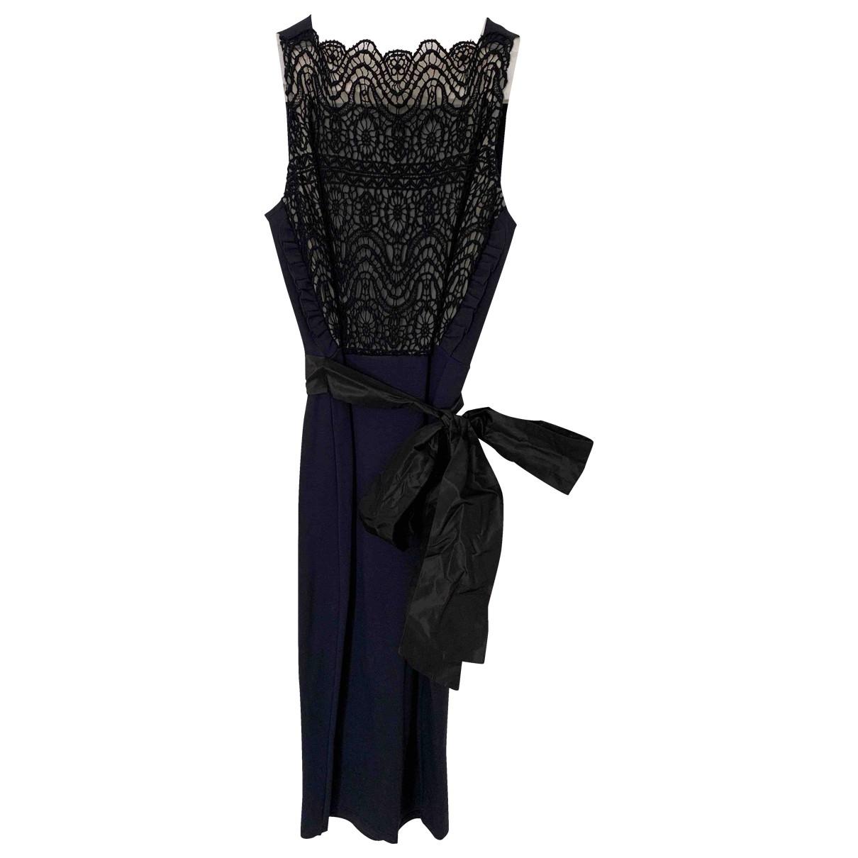 Red Valentino Garavani \N Kleid in  Blau Spitze