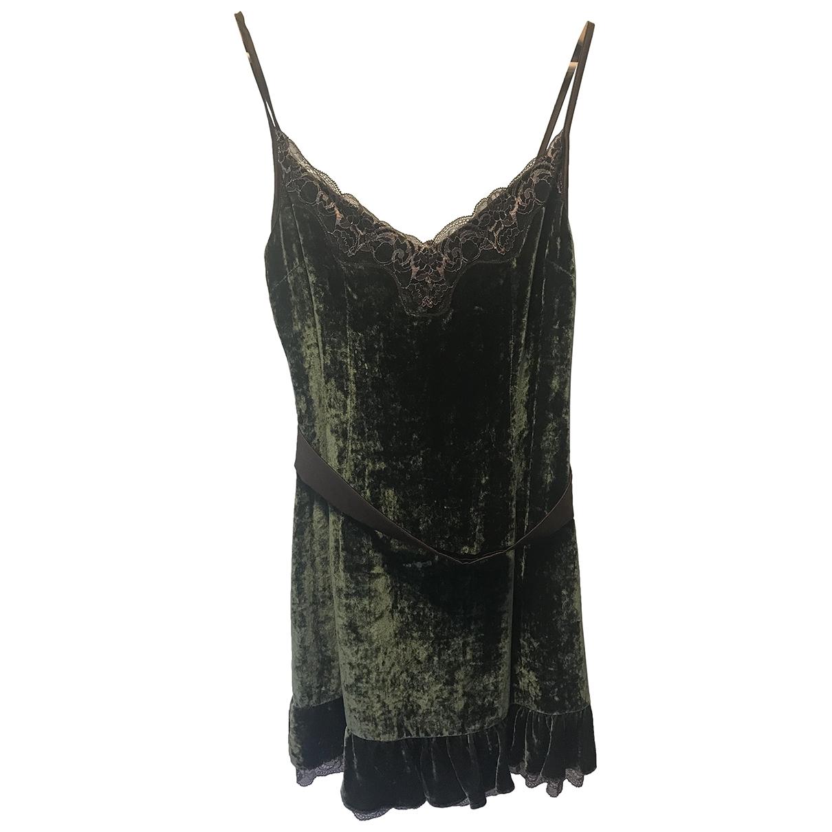 Mini vestido de Terciopelo D&g