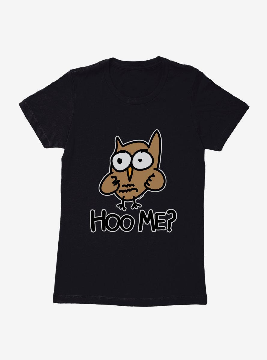 i-Create Hoo Me? Owl Womens T-Shirt