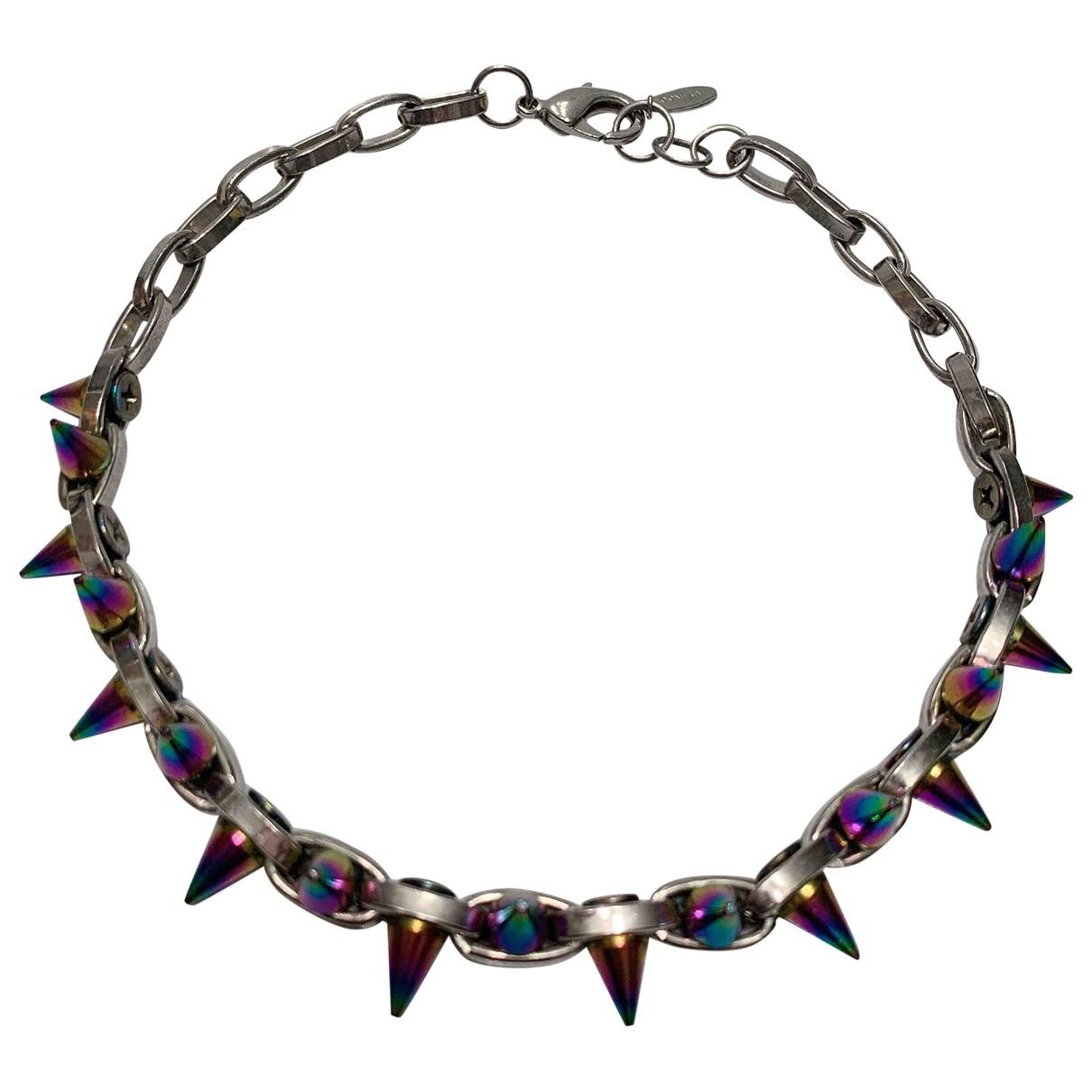 Joomi Lim \N Anthracite Metal necklace for Women \N