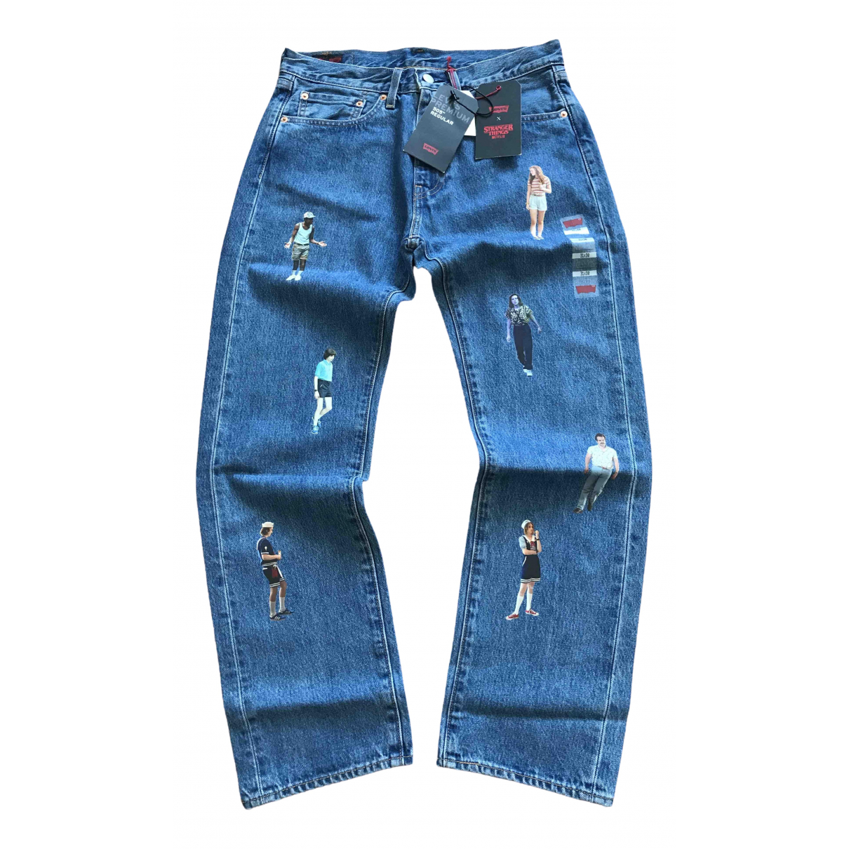 Levi's \N Blue Cotton Jeans for Men 31 US