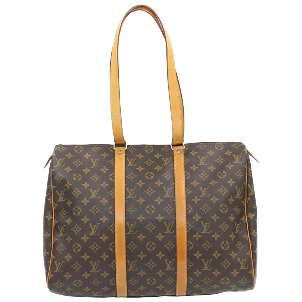 Louis Vuitton Flanerie Brown Cloth handbag for Women \N