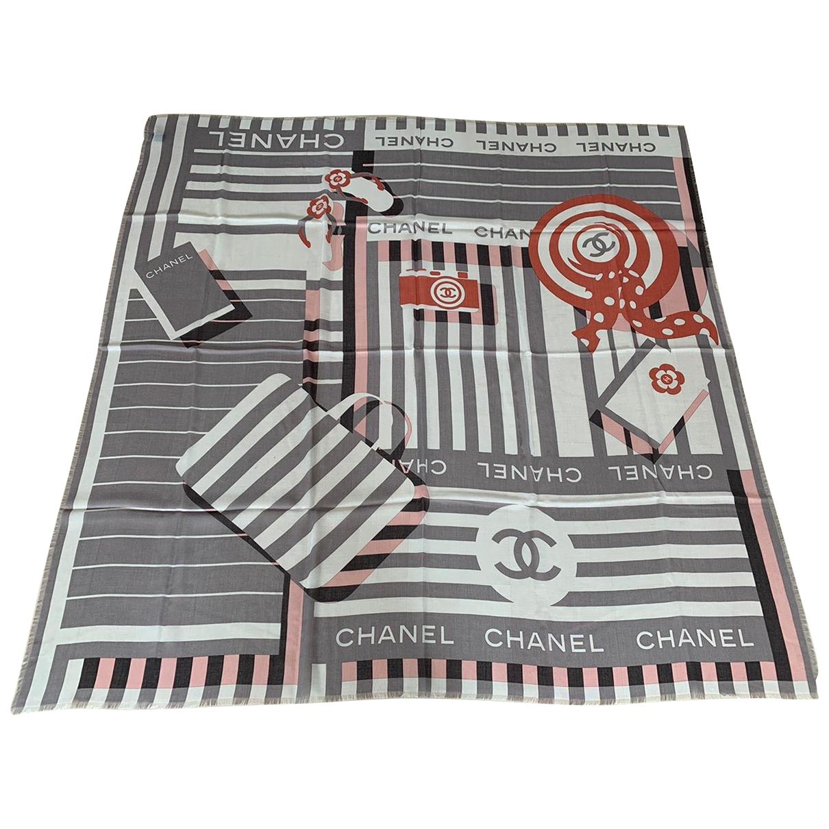 Chanel \N Grey Cashmere scarf for Women \N