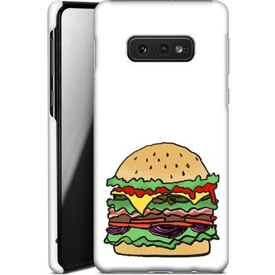 Samsung Galaxy S10e Smartphone Huelle - Burger  von caseable Designs