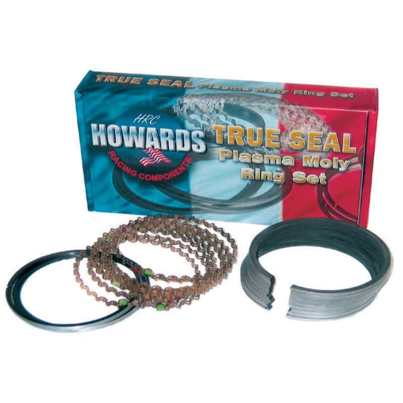 True Seal Piston Ring Set; 4.040 1/16 1/16 3/16 Plasma Moly Howards Cams HRC4860-4040-5 HRC4860-4040-5