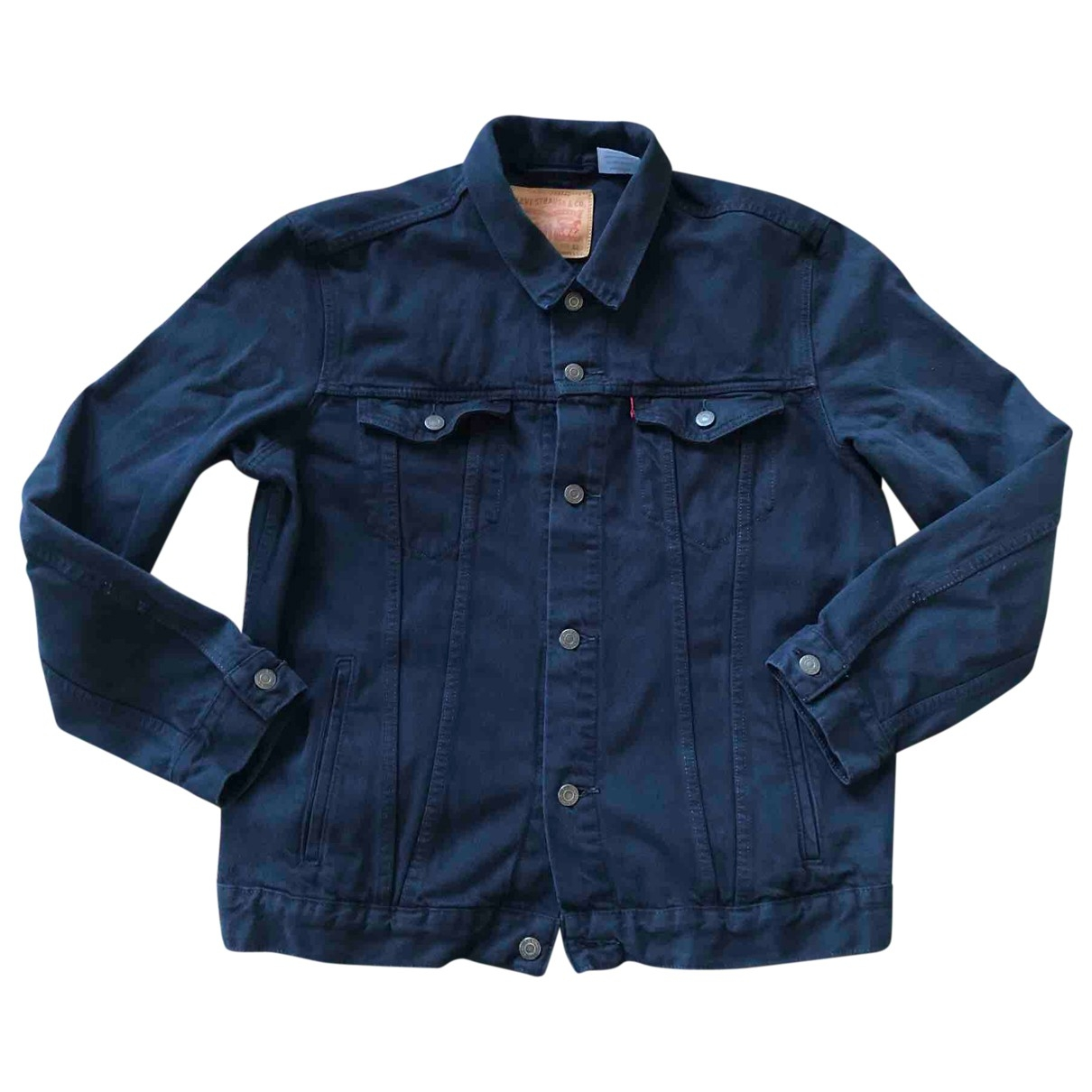 Levis \N Jacke in  Marine Denim - Jeans