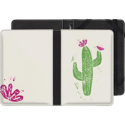 tolino shine 2 HD eBook Reader Huelle - Linocut Cacti von Bianca Green