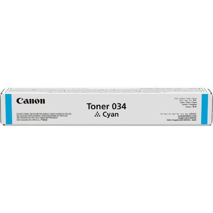 Canon 034 9453B001 cartouche de toner originale cyan