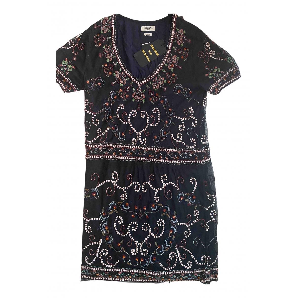 Zadig & Voltaire \N Kleid in  Bunt Polyester