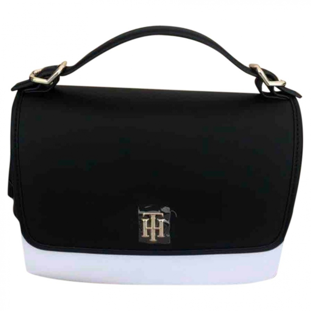 Tommy Hilfiger \N Black Leather handbag for Women \N