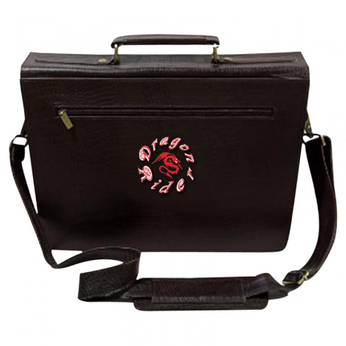 Adidas \N Handtasche in  Schwarz Leder