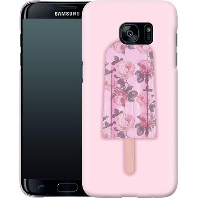 Samsung Galaxy S7 Edge Smartphone Huelle - Floral Popsicle von Emanuela Carratoni