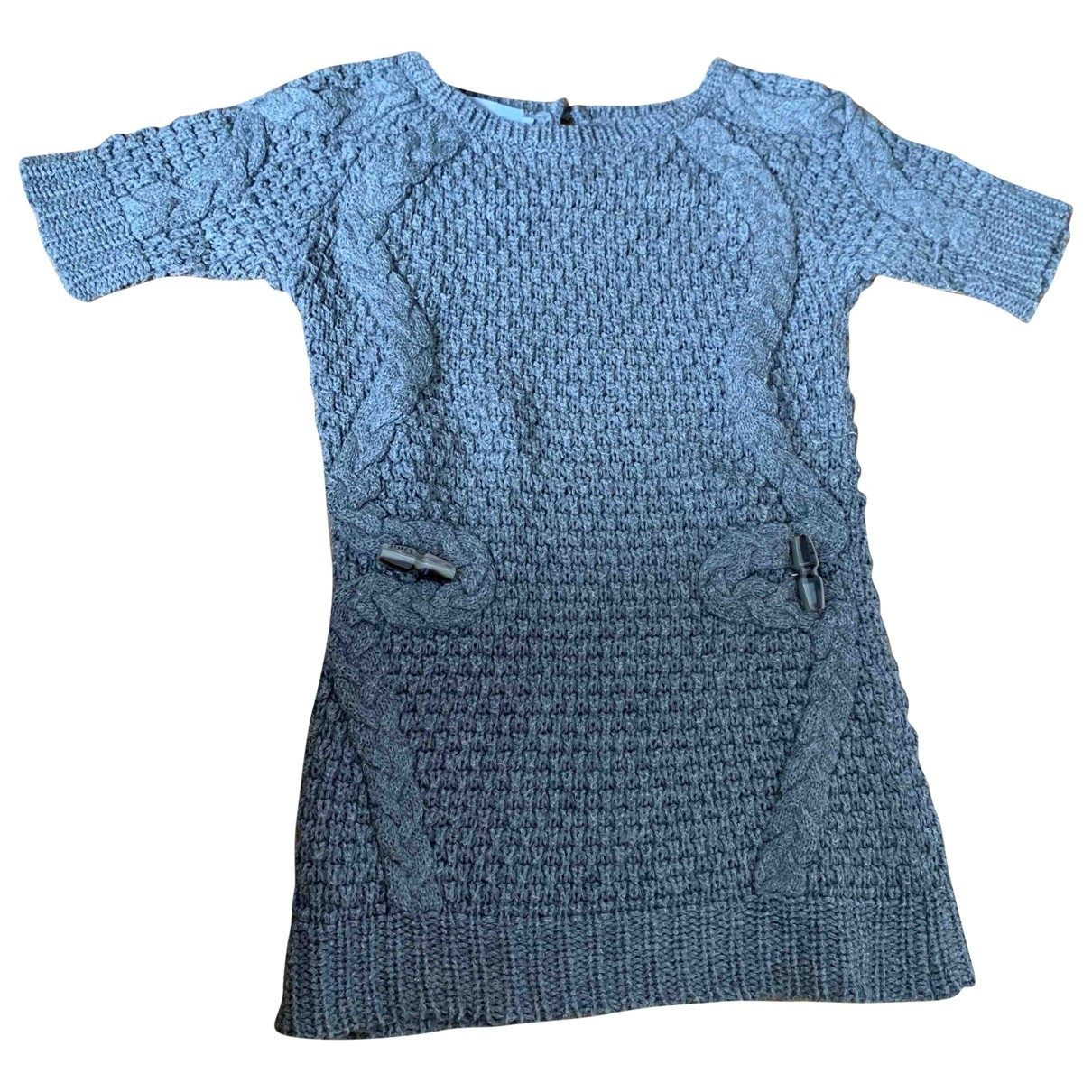 Dior - Robe    pour enfant en cachemire - gris