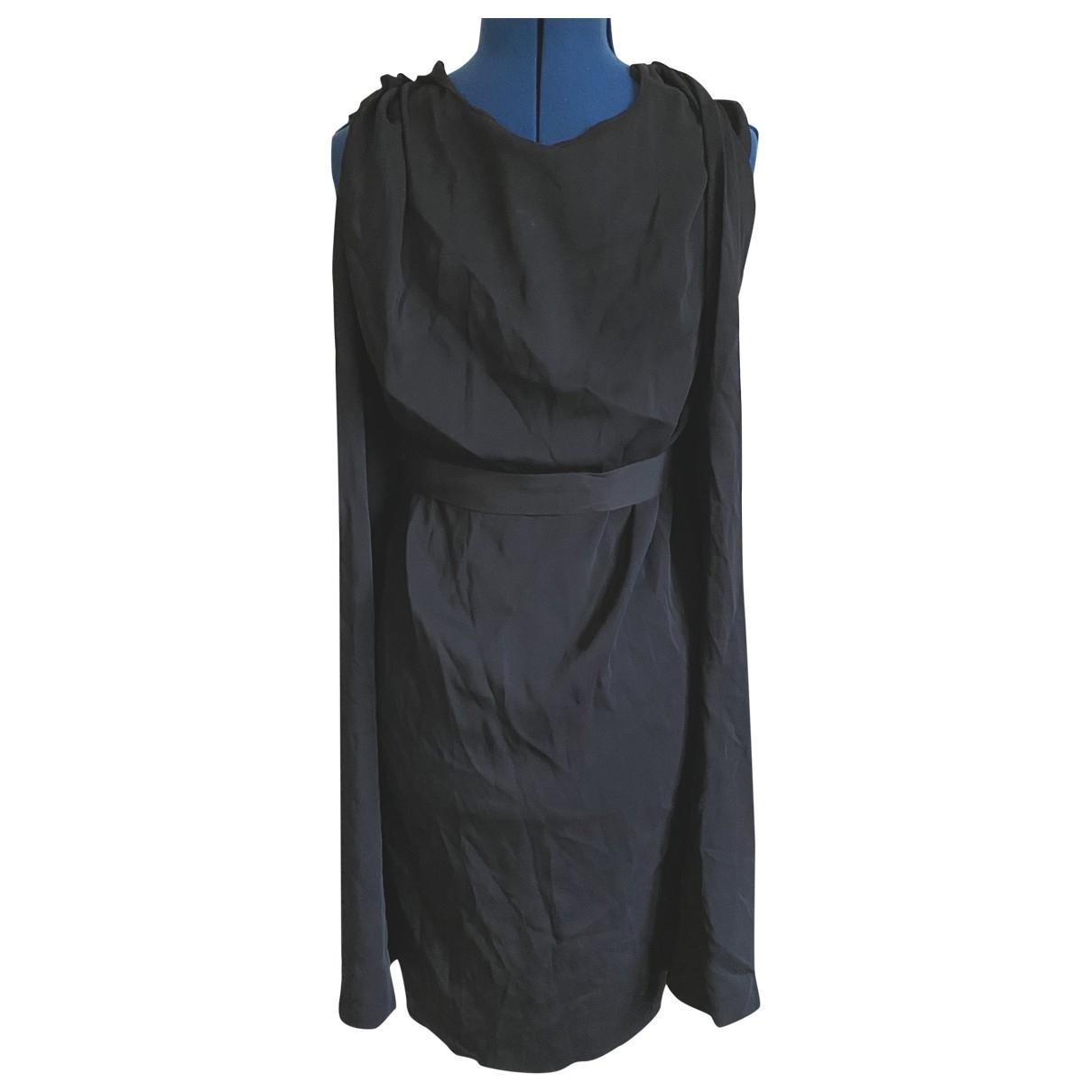 Vionnet \N Kleid in  Schwarz Viskose