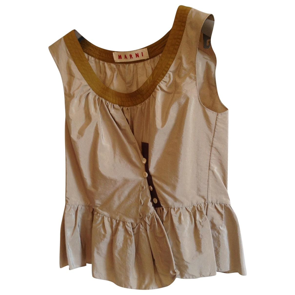 Marni \N Green  top for Women 38 IT
