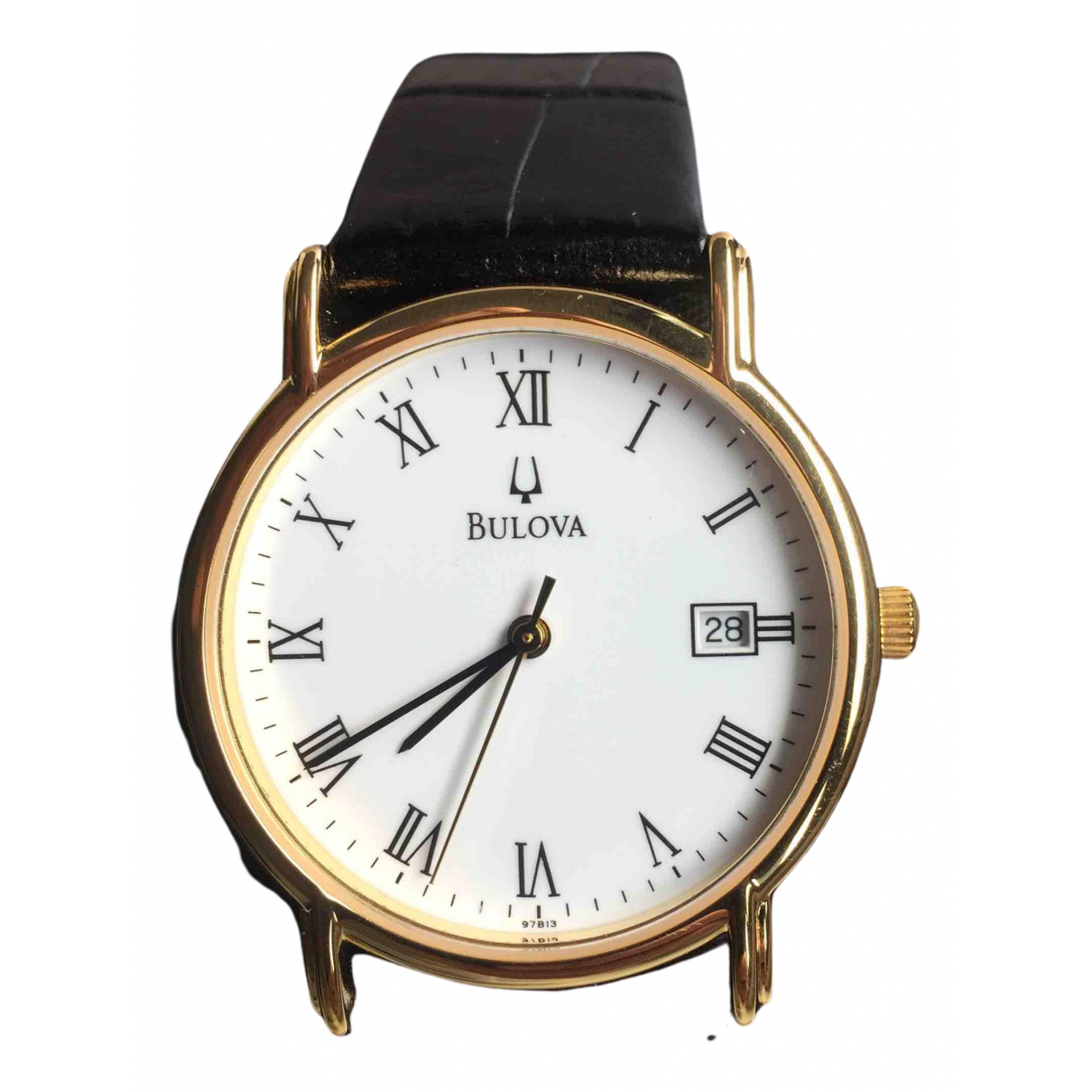 Bulova N Gold Steel watch for Men N