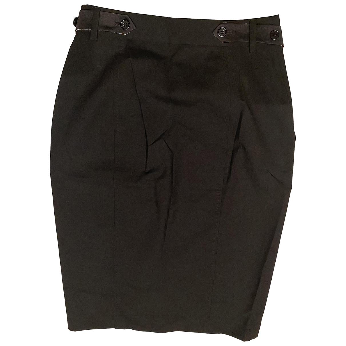 Paul Smith \N Black Wool skirt for Women 36 FR