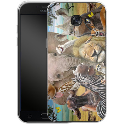 Samsung Galaxy A5 (2017) Silikon Handyhuelle - Africa Selfie von Howard Robinson